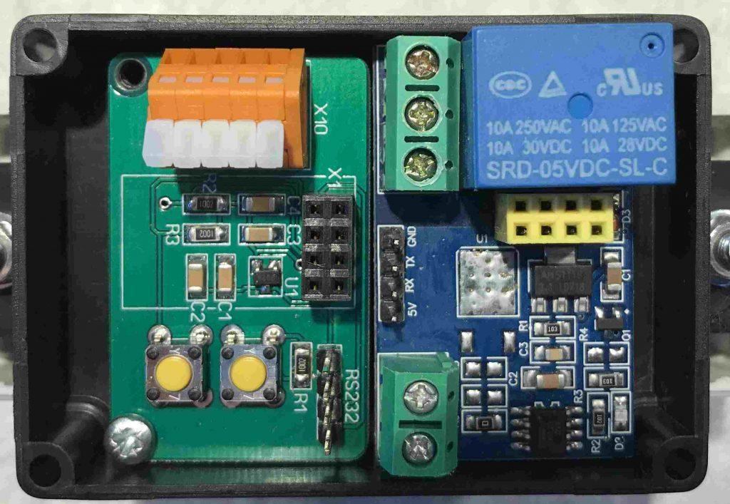 ESP8266 - Adapter mit Relaisplatine